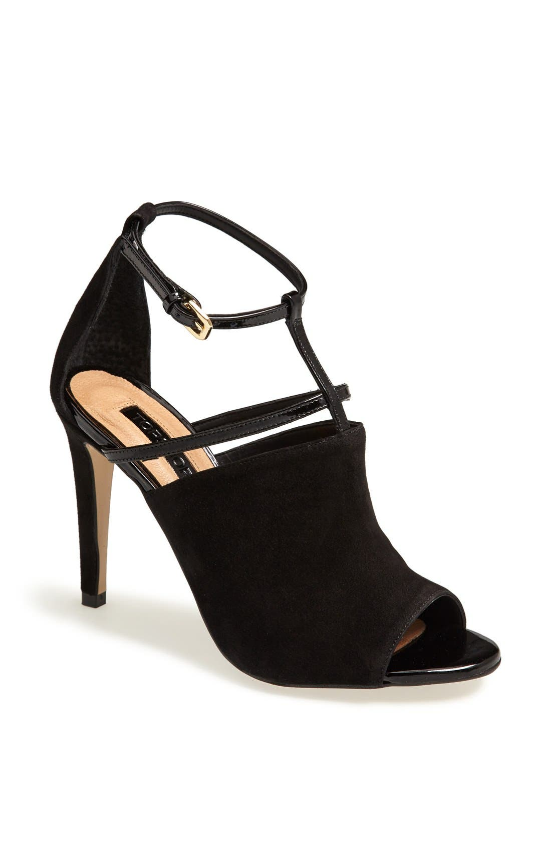 Main Image - Topshop 'Gamos' Leather Sandal