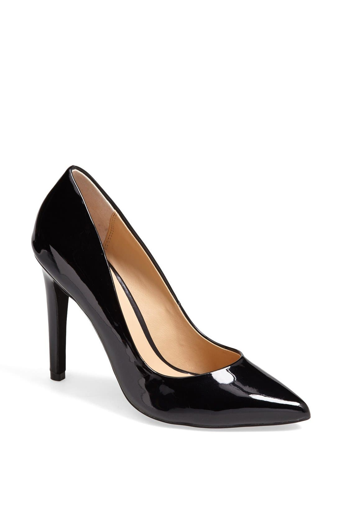 Alternate Image 1 Selected - Joe's 'Erika' Patent Leather Pointy Toe Pump