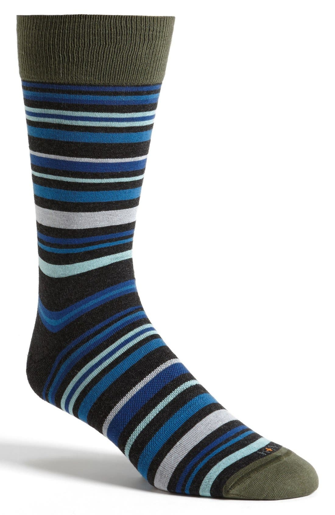 Alternate Image 1 Selected - hook + ALBERT 'Stratum' Socks