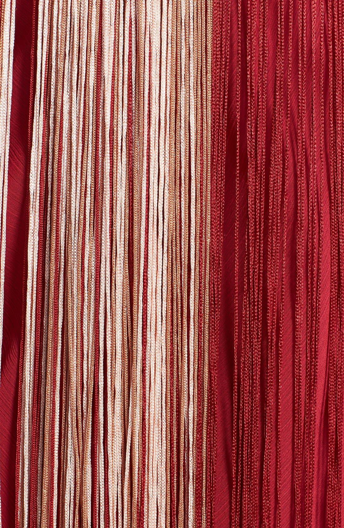 Alternate Image 3  - Free People 'Deco Fringe' Chiffon Midi Dress