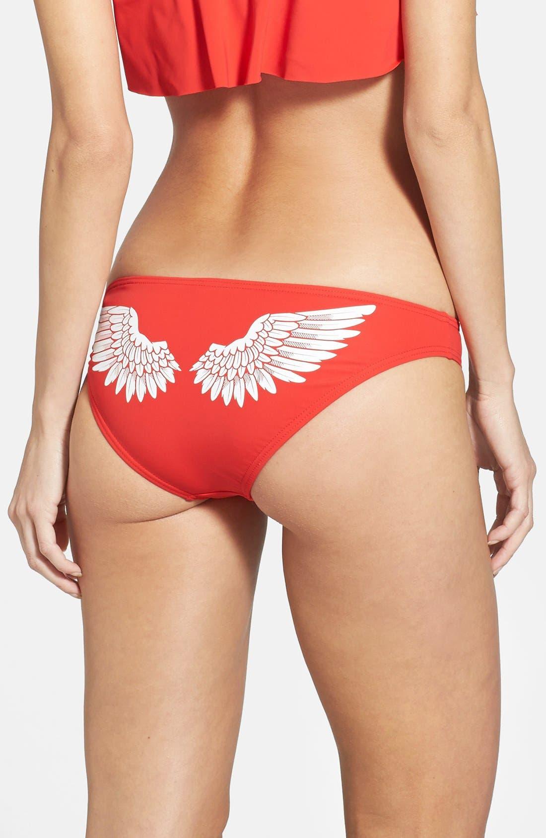 Alternate Image 2  - Wildfox 'Angel Wings' Bikini Bottoms