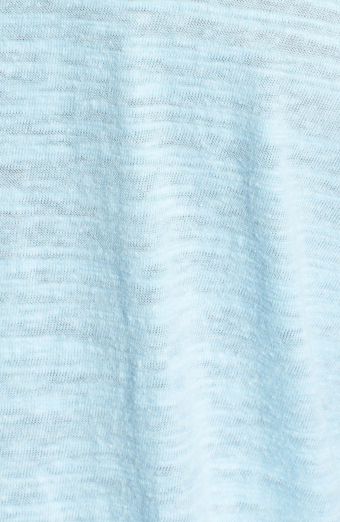 Alternate Image 3  - Tommy Bahama 'Sunday Best' Long Sleeve Heathered T-Shirt