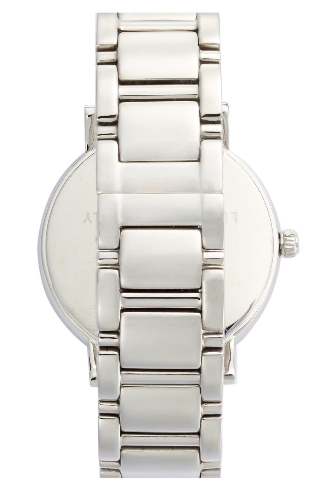 Alternate Image 2  - kate spade new york 'gramercy grand' pavé bezel bracelet watch, 38mm