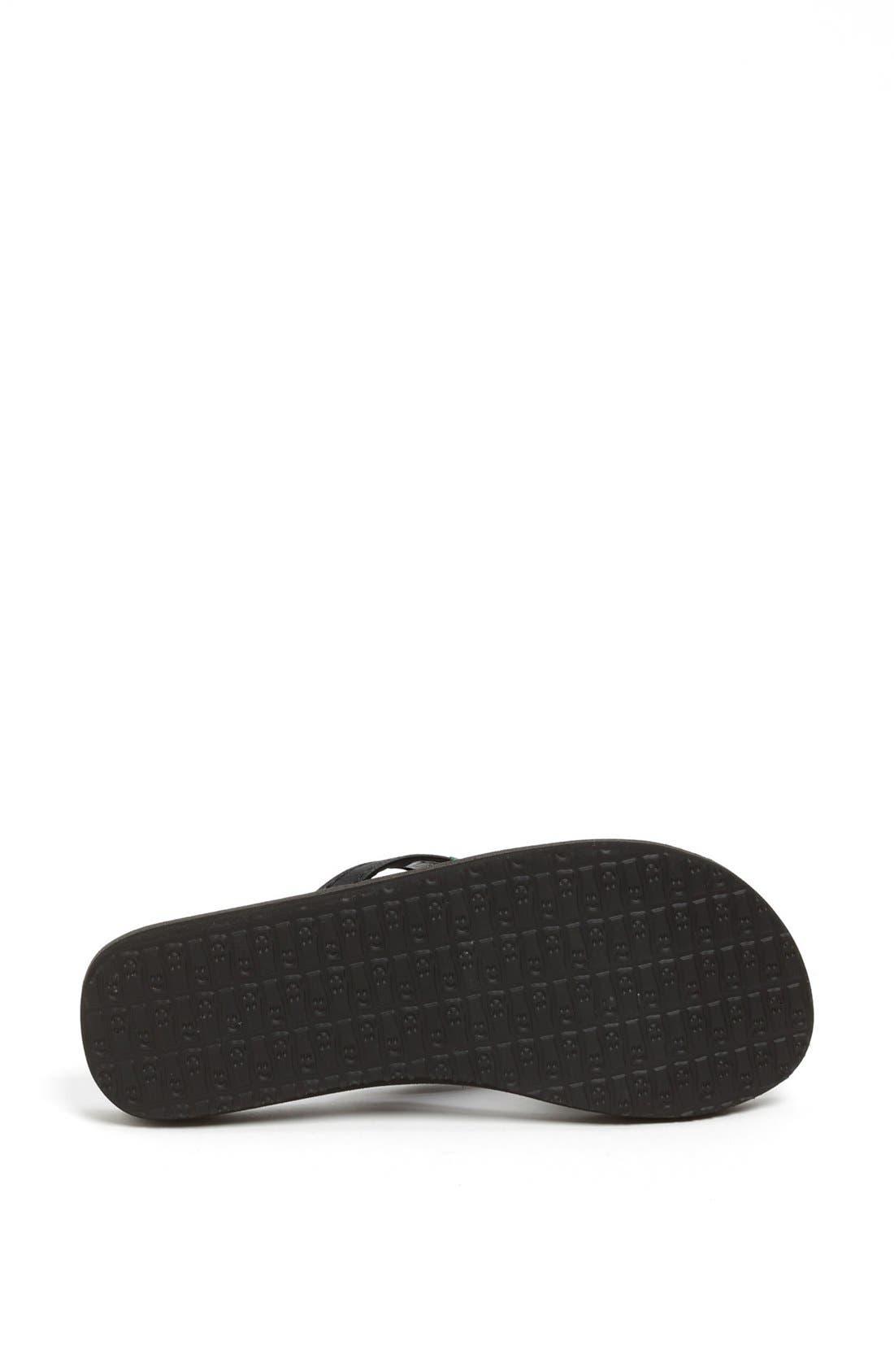 Alternate Image 4  - Sanuk 'Yoga Joy' Flip Flop (Women) (Regular Retail Price: $29.95)