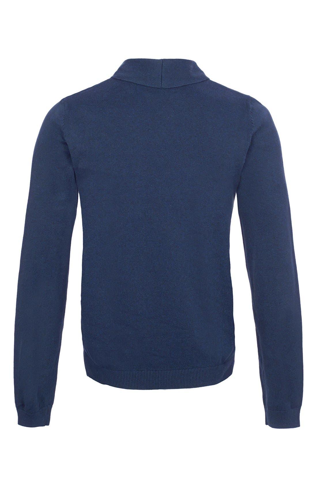Alternate Image 2  - Topman Shawl Collar Sweater