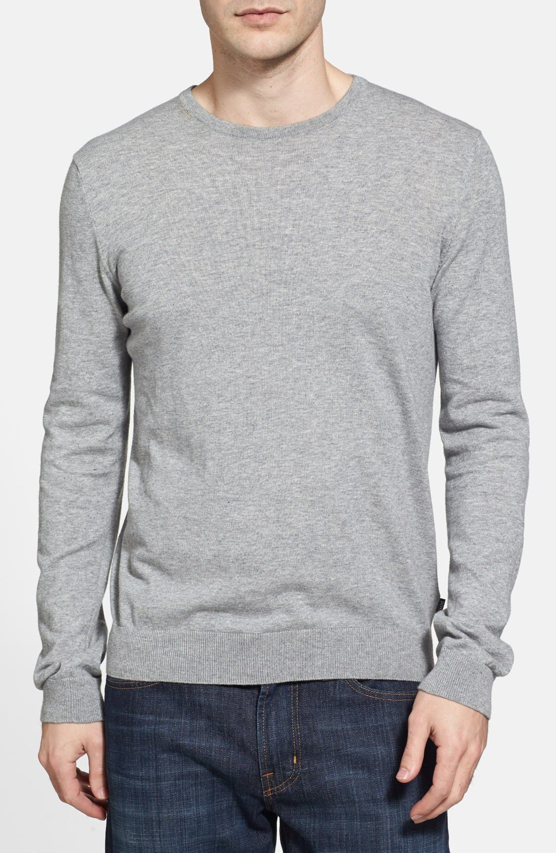 Alternate Image 1 Selected - BOSS HUGO BOSS 'Perinus' Crewneck Sweater