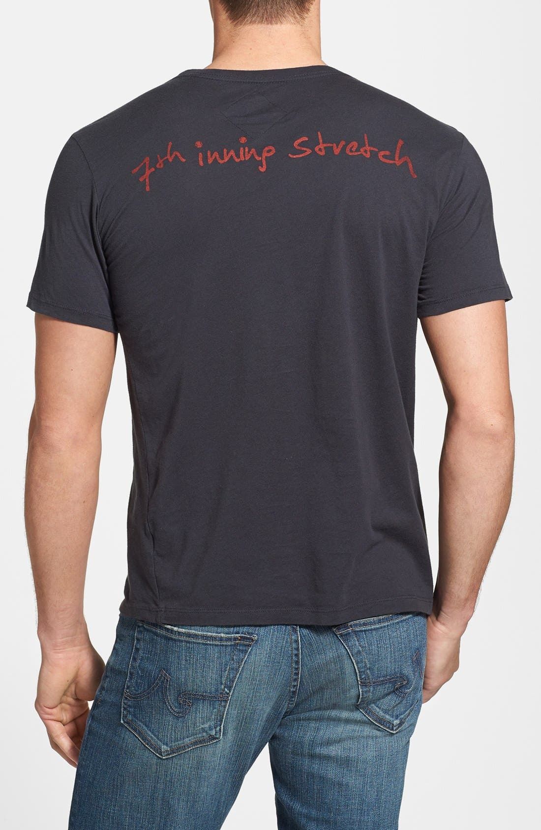 Alternate Image 2  - 7th Inning Stretch 'Academy' Slim Fit T-Shirt