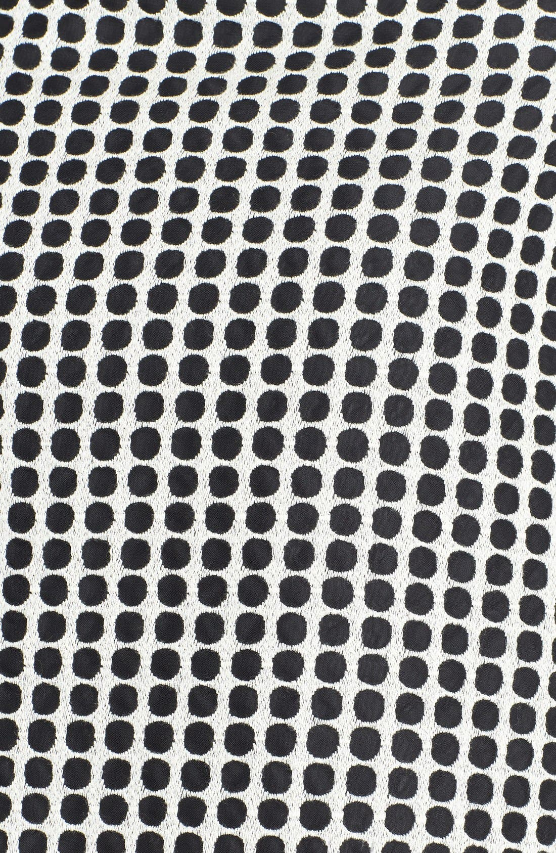 Alternate Image 3  - Vince Camuto Two-Tone Dot Print Organza Skirt