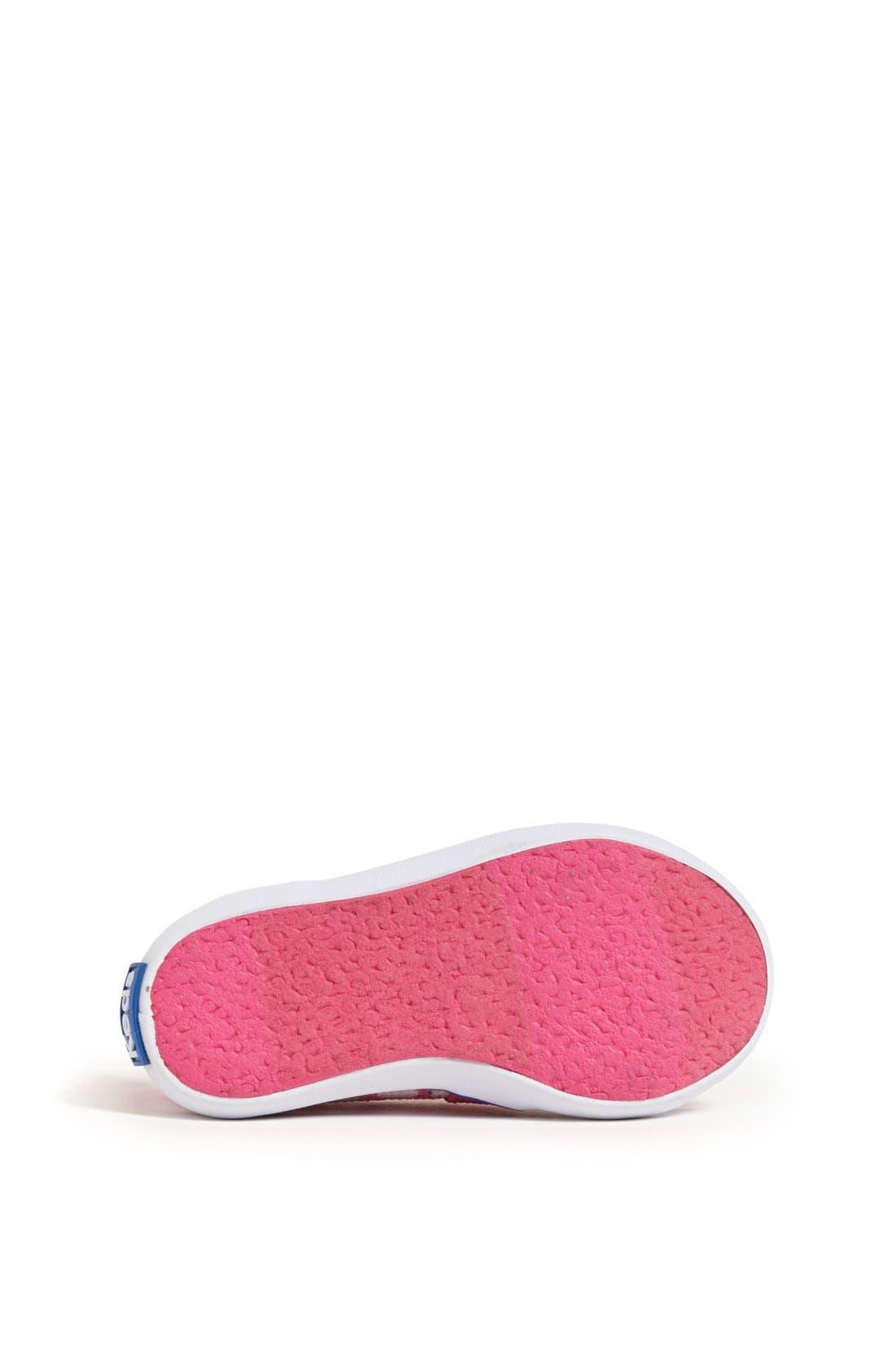 Alternate Image 4  - Keds® 'Champion - Hello Kitty®' Sneaker (Walker & Toddler)