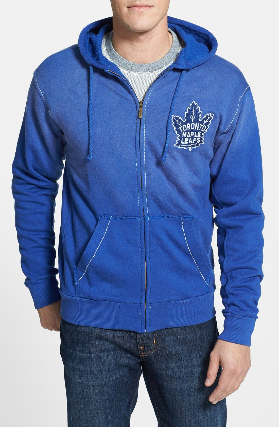 Main Image - Red Jacket 'Toronto Maple Leafs - Buzz' Hoodie