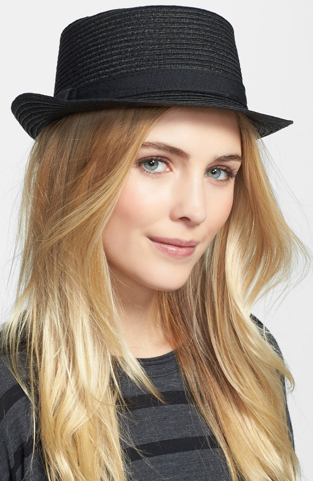 Alternate Image 1 Selected - Nordstrom Boater Hat