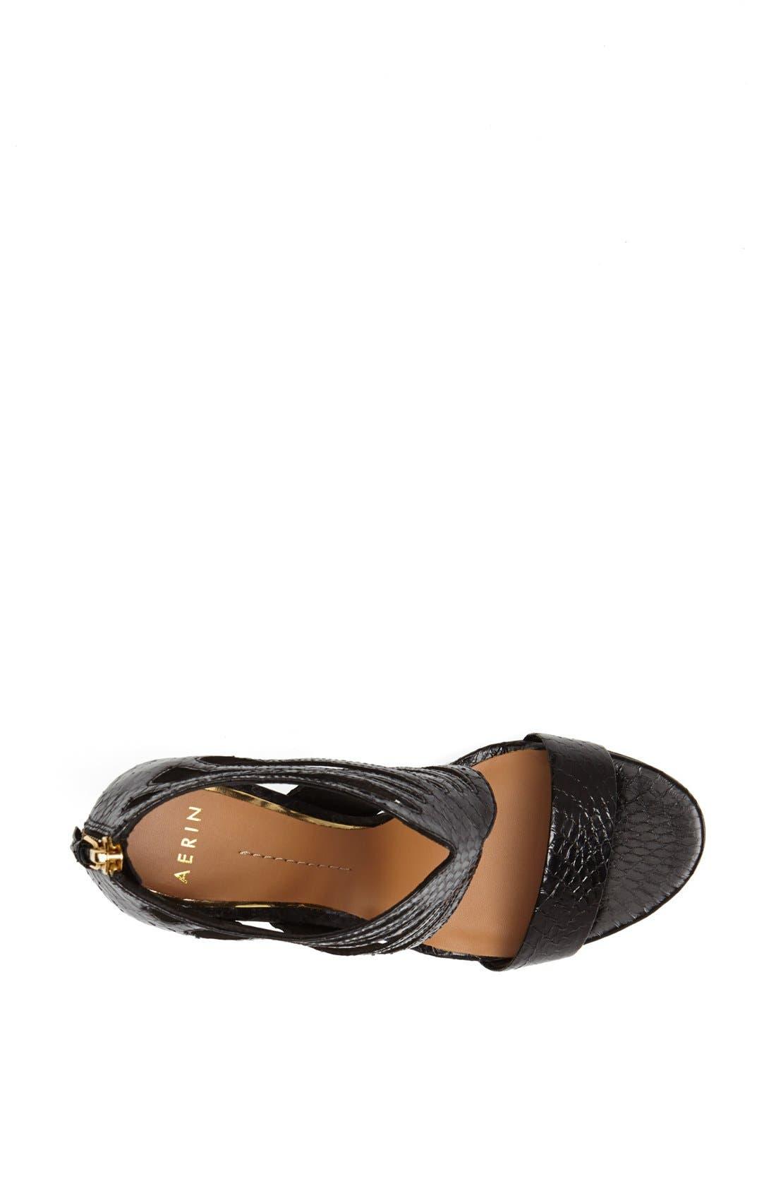 Alternate Image 3  - Aerin 'Chiara' Genuine Snakeskin Sandal