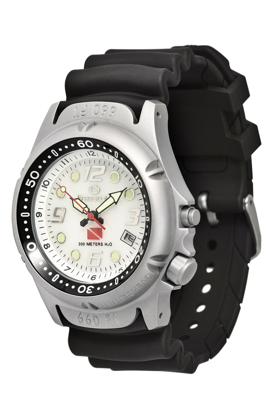 Alternate Image 1 Selected - Freestyle 'Hammerhead' Dive Watch, 45mm