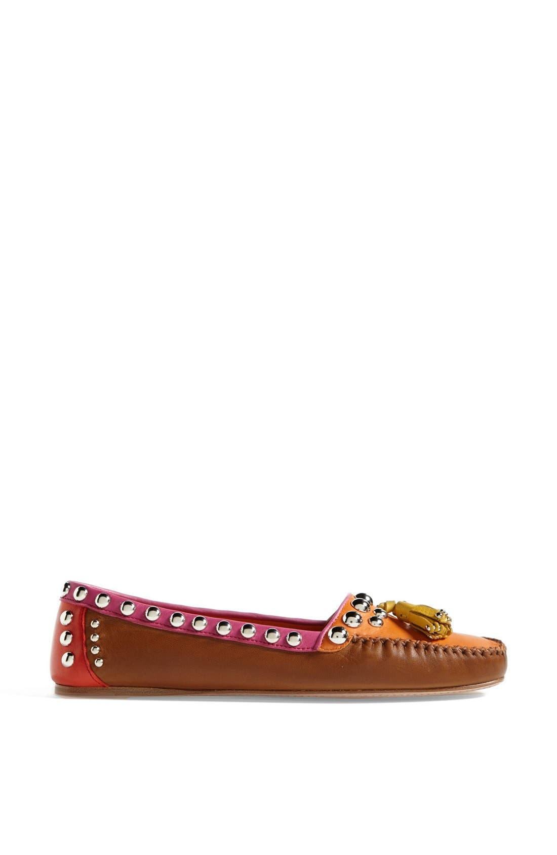 Alternate Image 3  - Prada Studded Tassel Moccasin