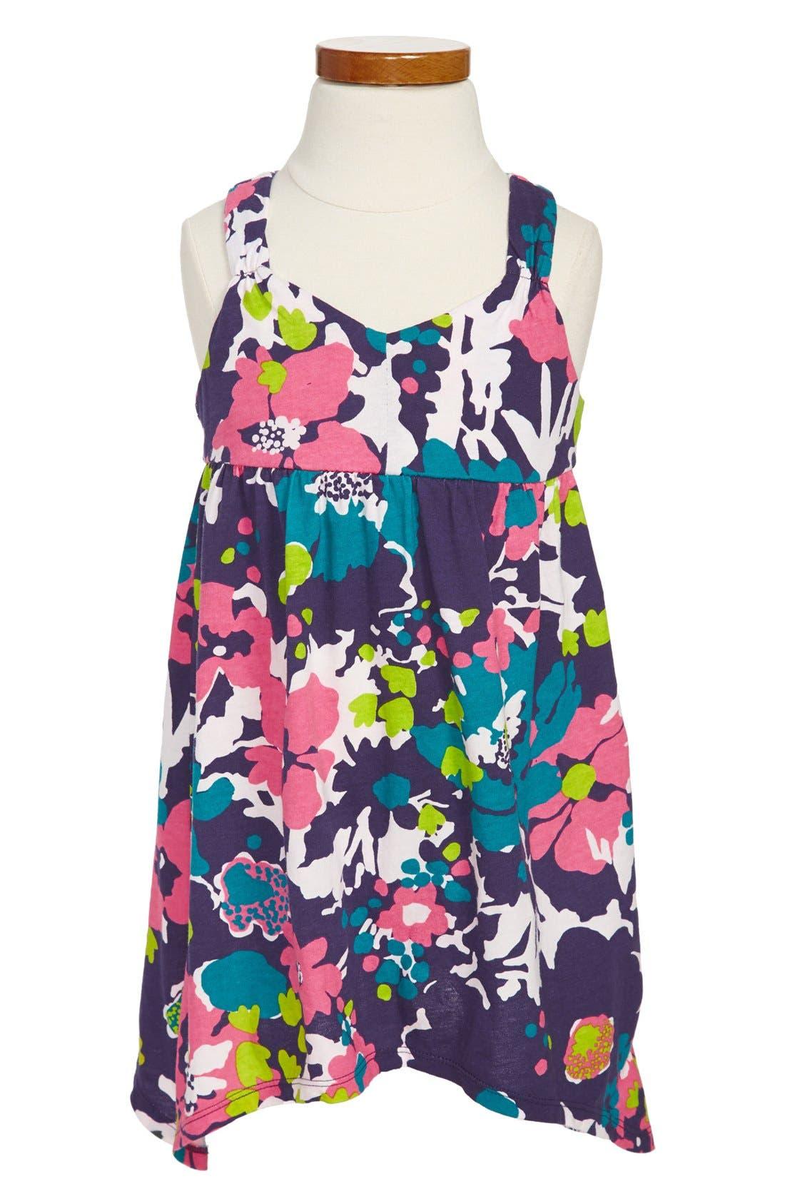 Alternate Image 1 Selected - Roxy 'Bay Hill' Sleeveless Dress (Toddler Girls)