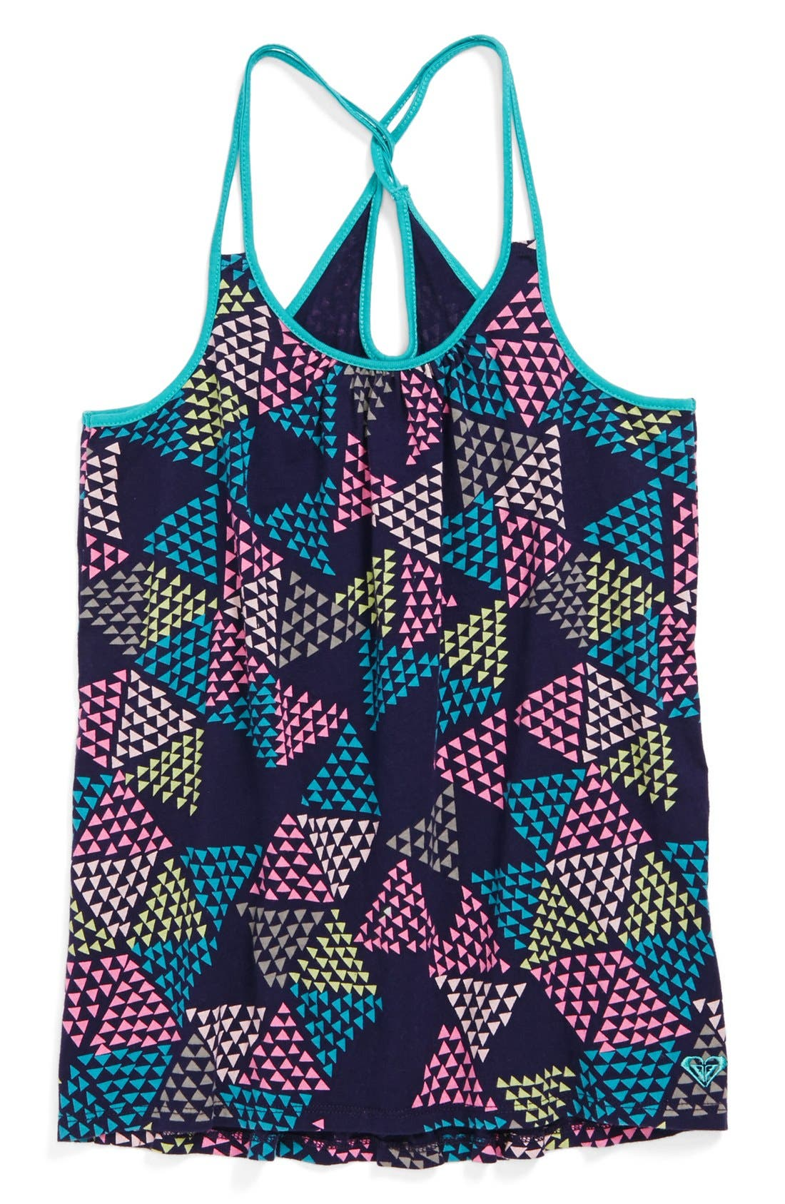 Main Image - Roxy 'Oak Holly' Tank Top (Big Girls)