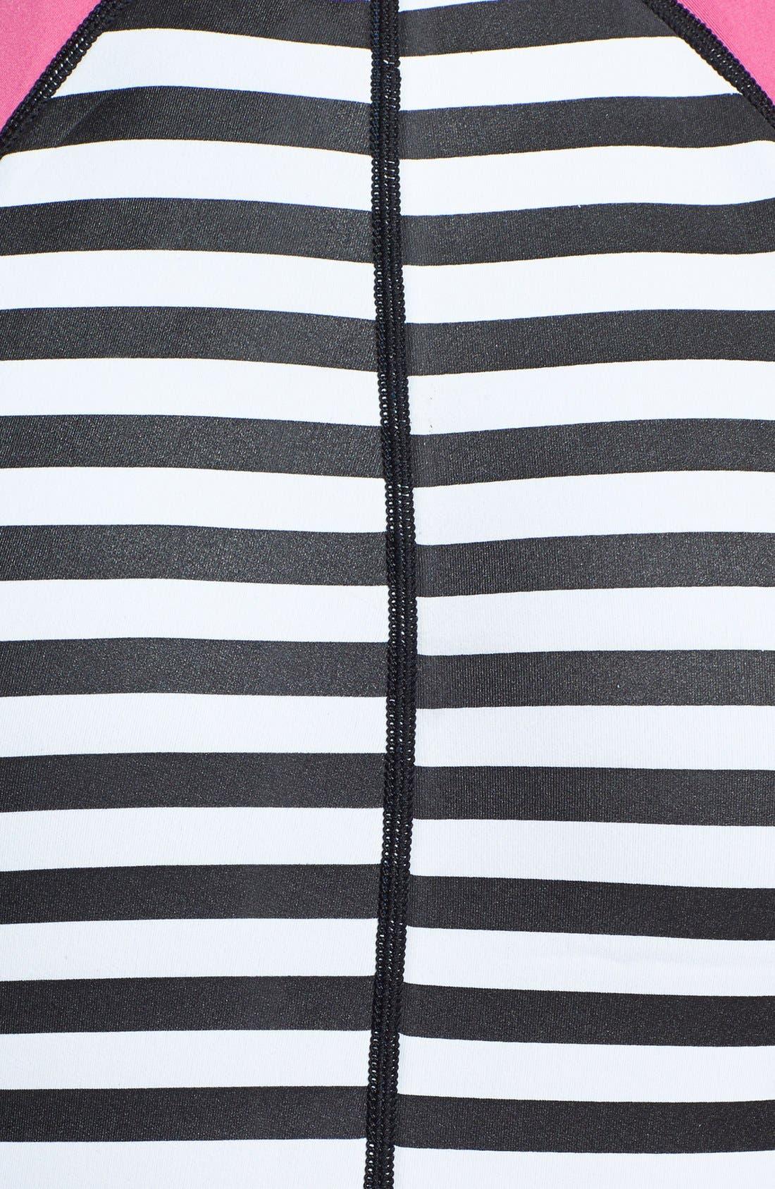 Alternate Image 3  - Roxy 'Hybrid Shortie' One-Piece Swimsuit (UPF 50+)