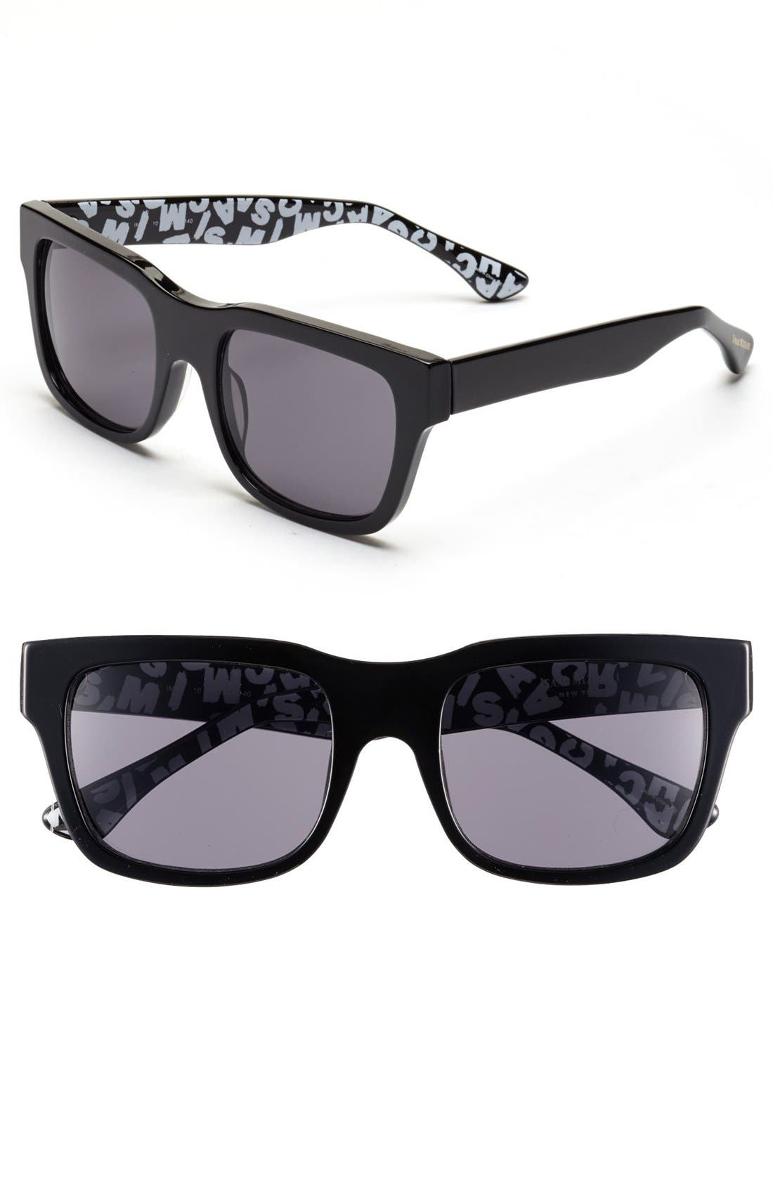 Alternate Image 1 Selected - Isaac Mizrahi New York 53mm Retro Sunglasses