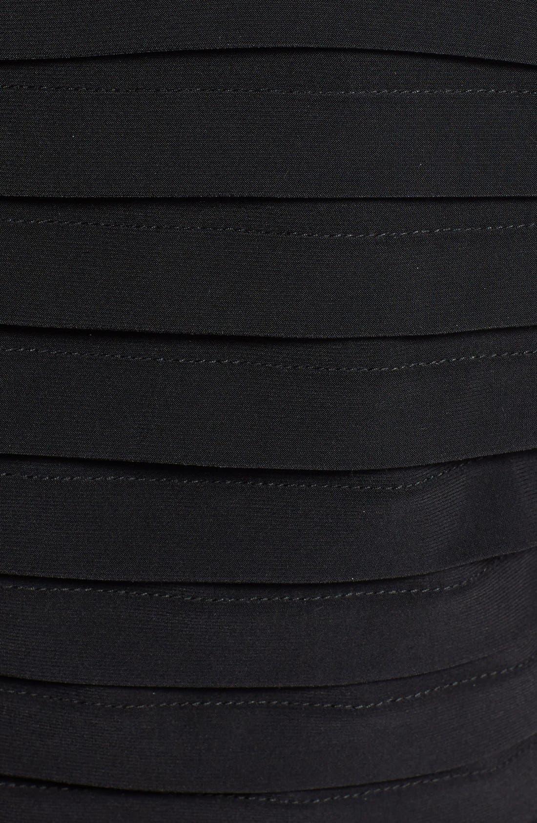 Alternate Image 3  - Adrianna Papell Short Sleeve Tulip Hem Dress