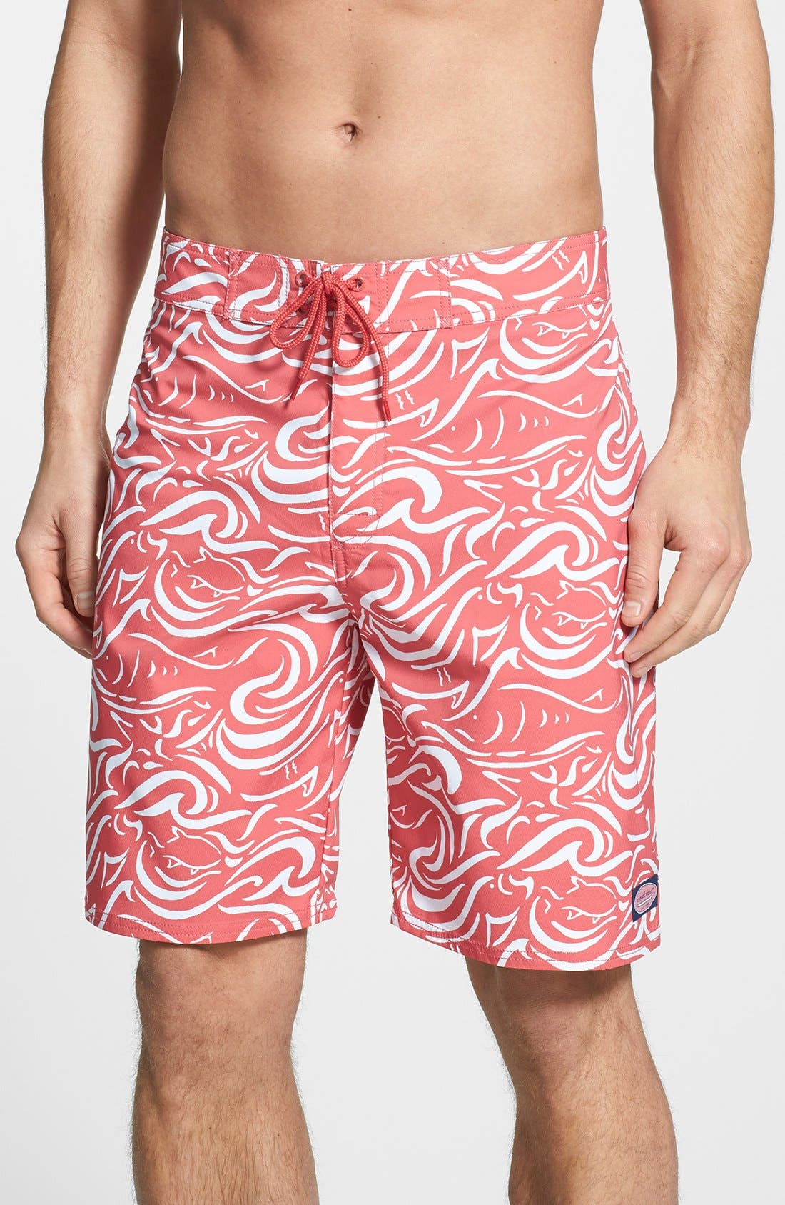 Alternate Image 1 Selected - Vineyard Vines 'Fish Swirl' Board Shorts