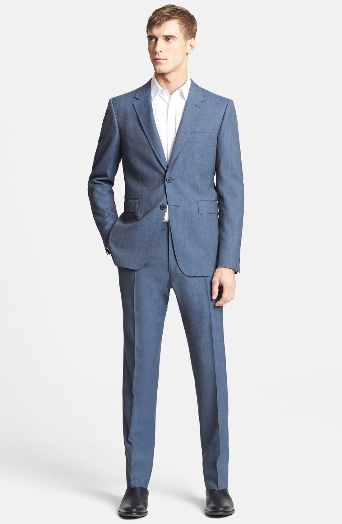 Main Image - Burberry London 'Milbank' Wool Suit