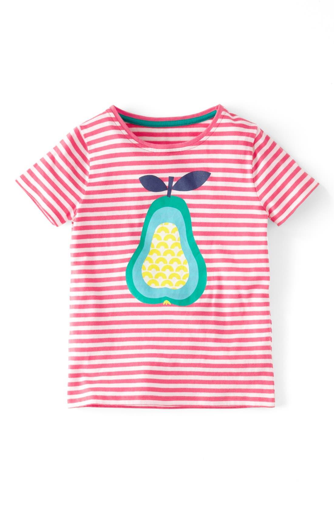 Alternate Image 1 Selected - Mini Boden 'Retro' Print Tee (Toddler Girls, Little Girls & Big Girls)(Online Only)