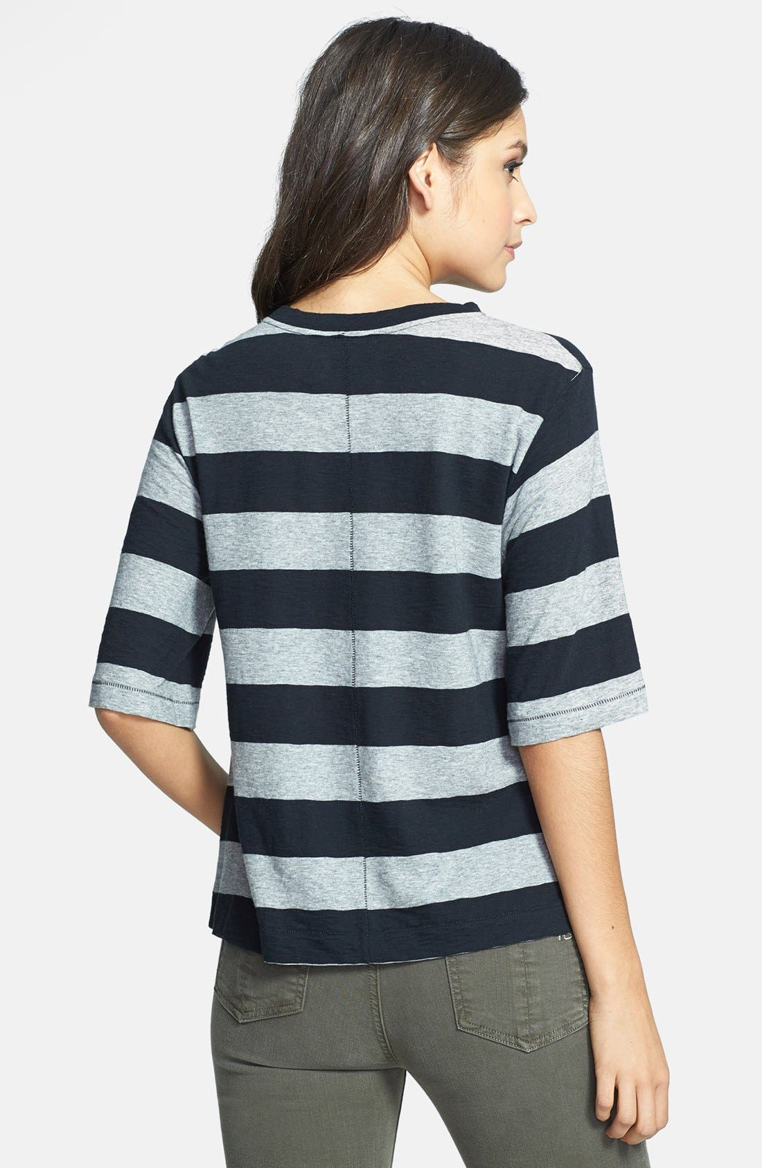 Alternate Image 2  - rag & bone/JEAN 'The Carey' Stripe Tee