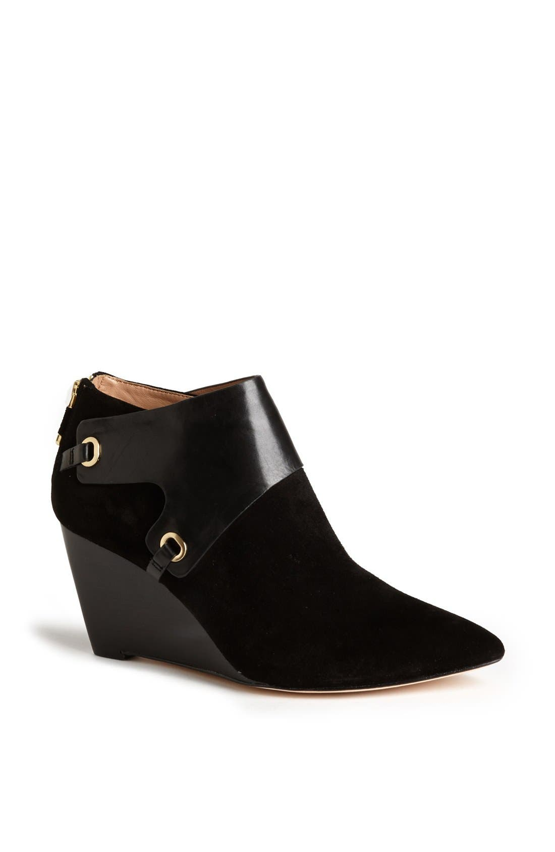 Main Image - VC Signature 'Mallorie' Leather Wedge Bootie