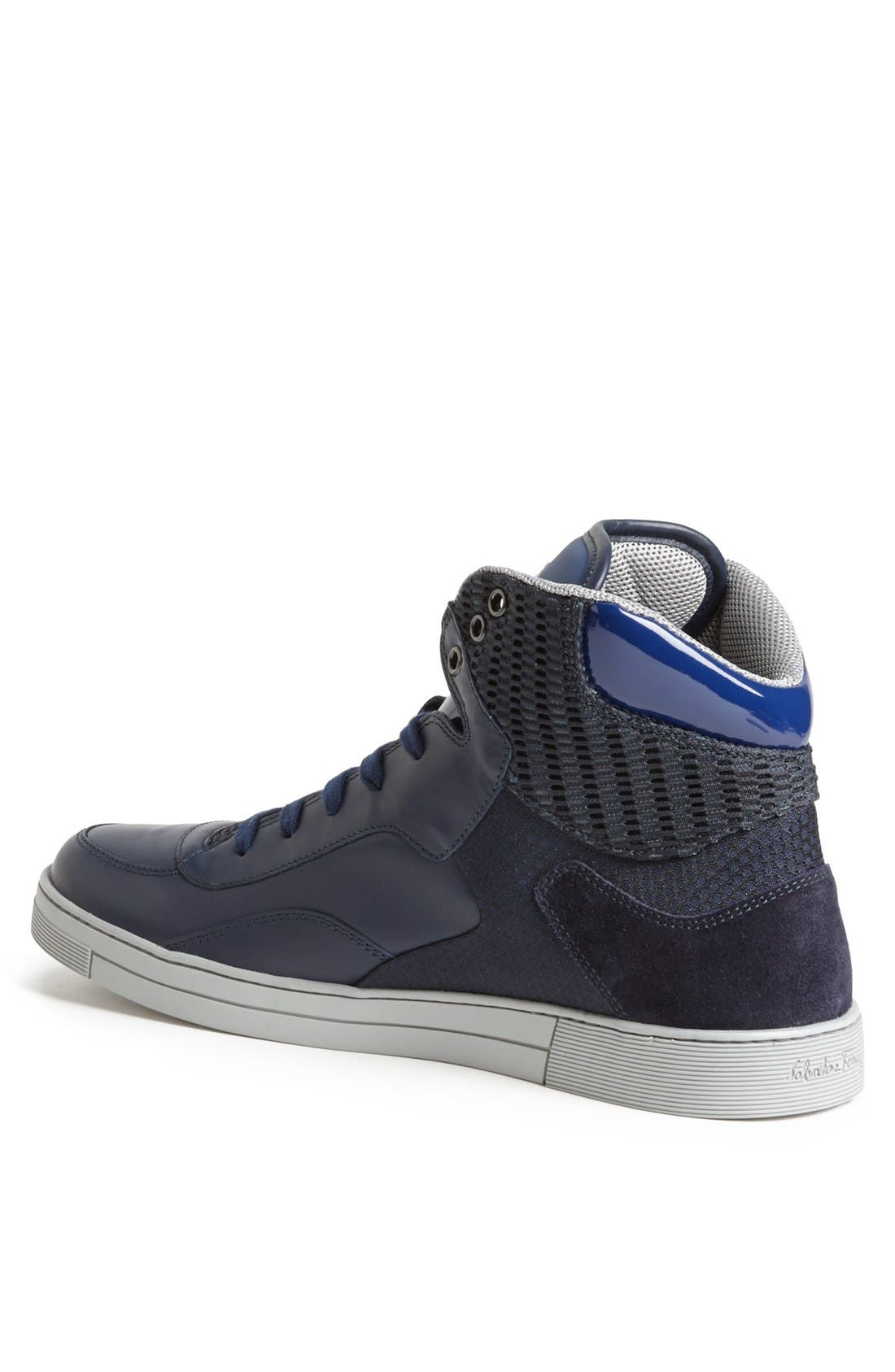 Alternate Image 2  - Salvatore Ferragamo 'Robert' High Top Sneaker
