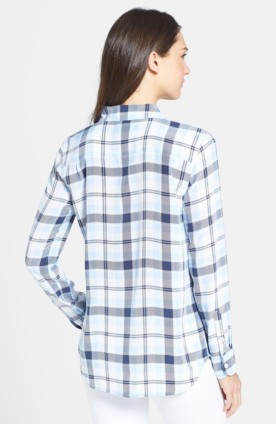 Alternate Image 2  - Equipment 'Capri' Plaid Silk Shirt