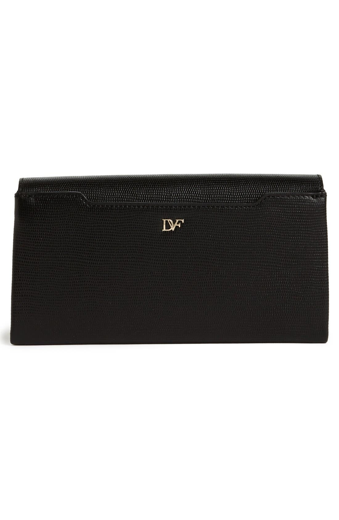 Alternate Image 3  - Diane von Furstenberg '440' Leather Envelope Clutch