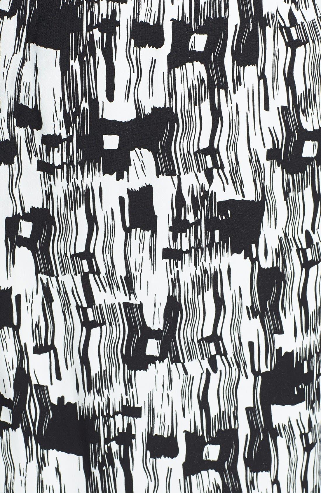 Alternate Image 3  - BOSS HUGO BOSS 'Dinomi' Print Stretch Crepe Dress