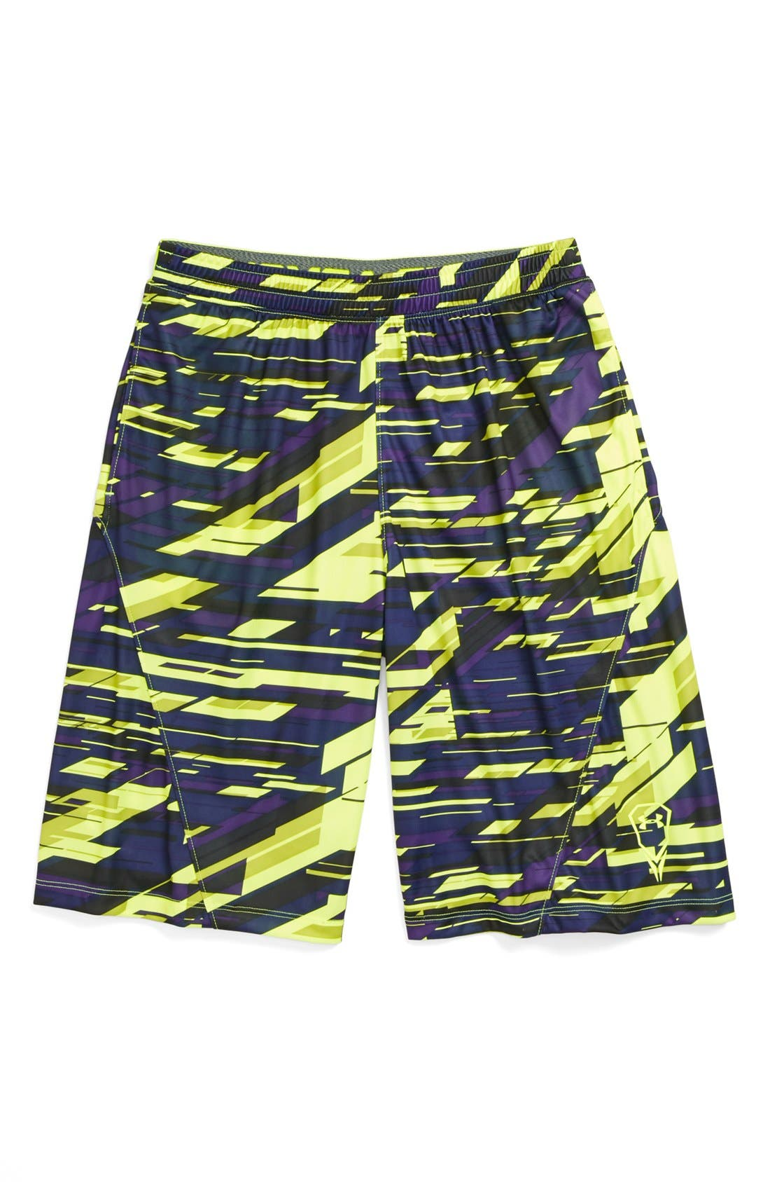 Alternate Image 1 Selected - Under Armour 'Upton O'Good' Shorts (Big Boys)