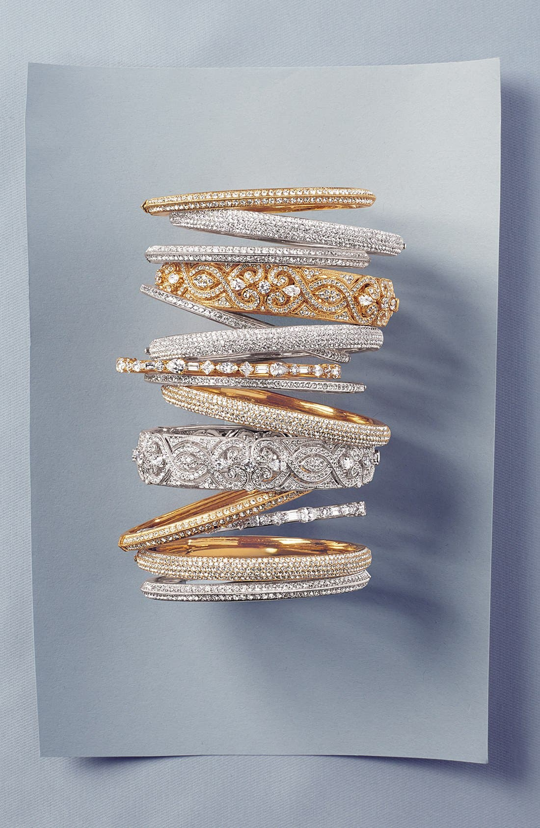 Alternate Image 3  - Nadri Crystal Scroll Bangle