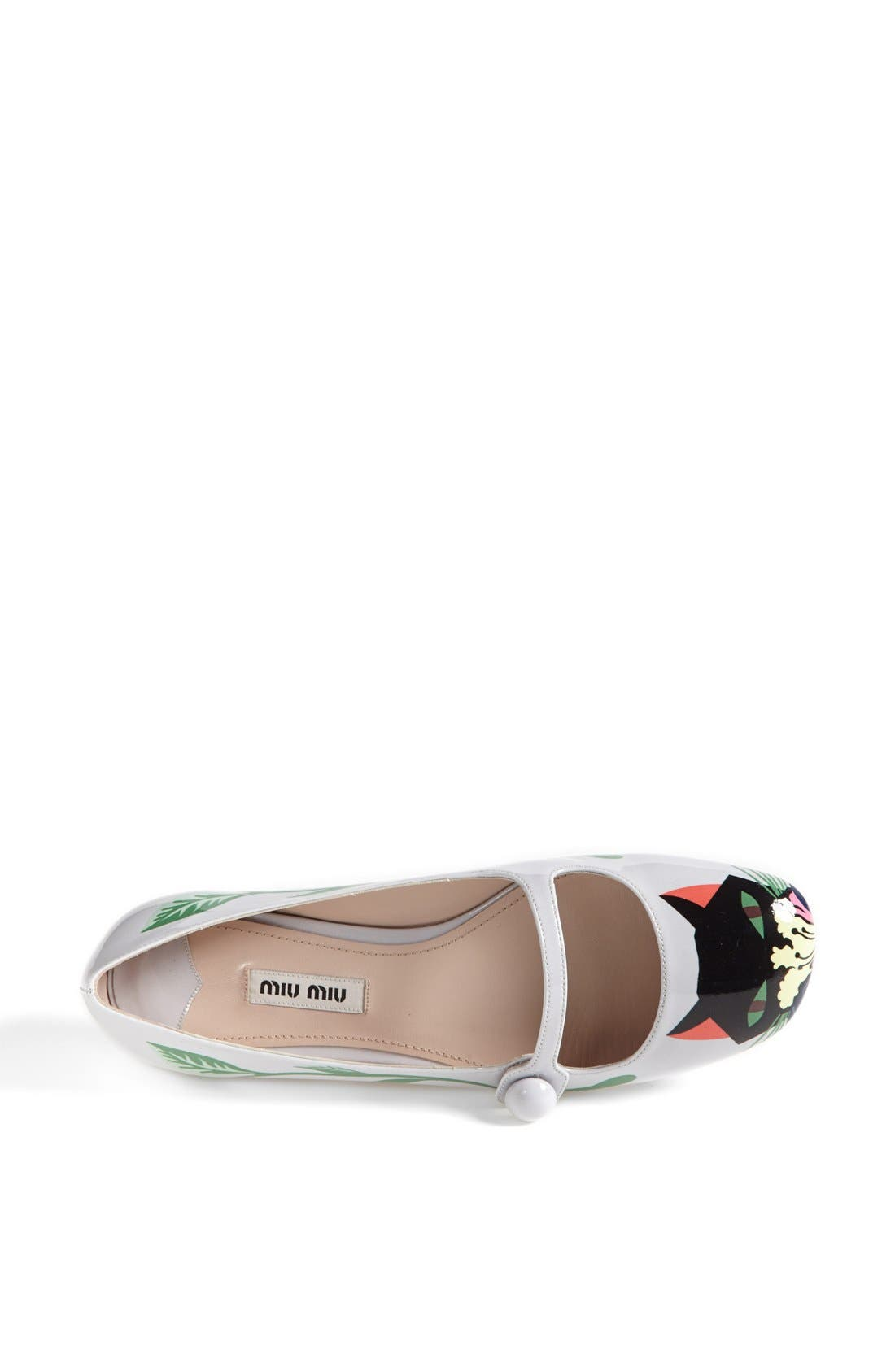 Alternate Image 3  - Miu Miu 'Cat' Mary Jane Flat