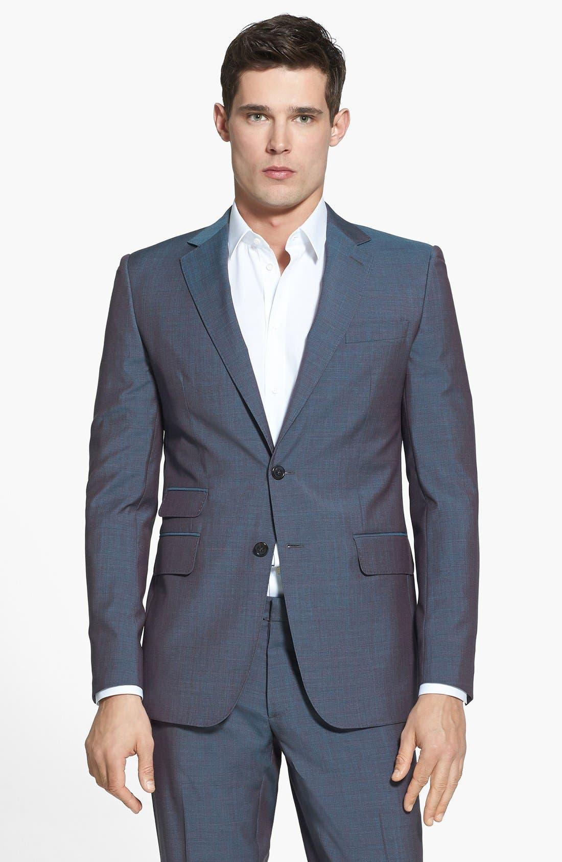 Alternate Image 3  - Dsquared2 'Milano' Mélange Wool Suit