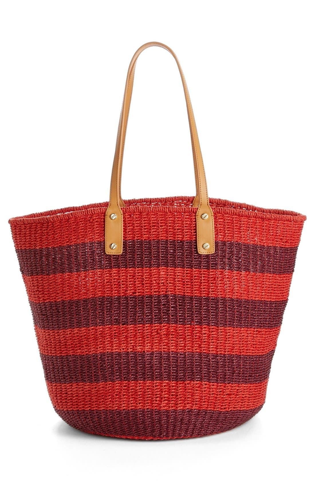 Alternate Image 4  - Tory Burch 'Tyler' Straw Tote