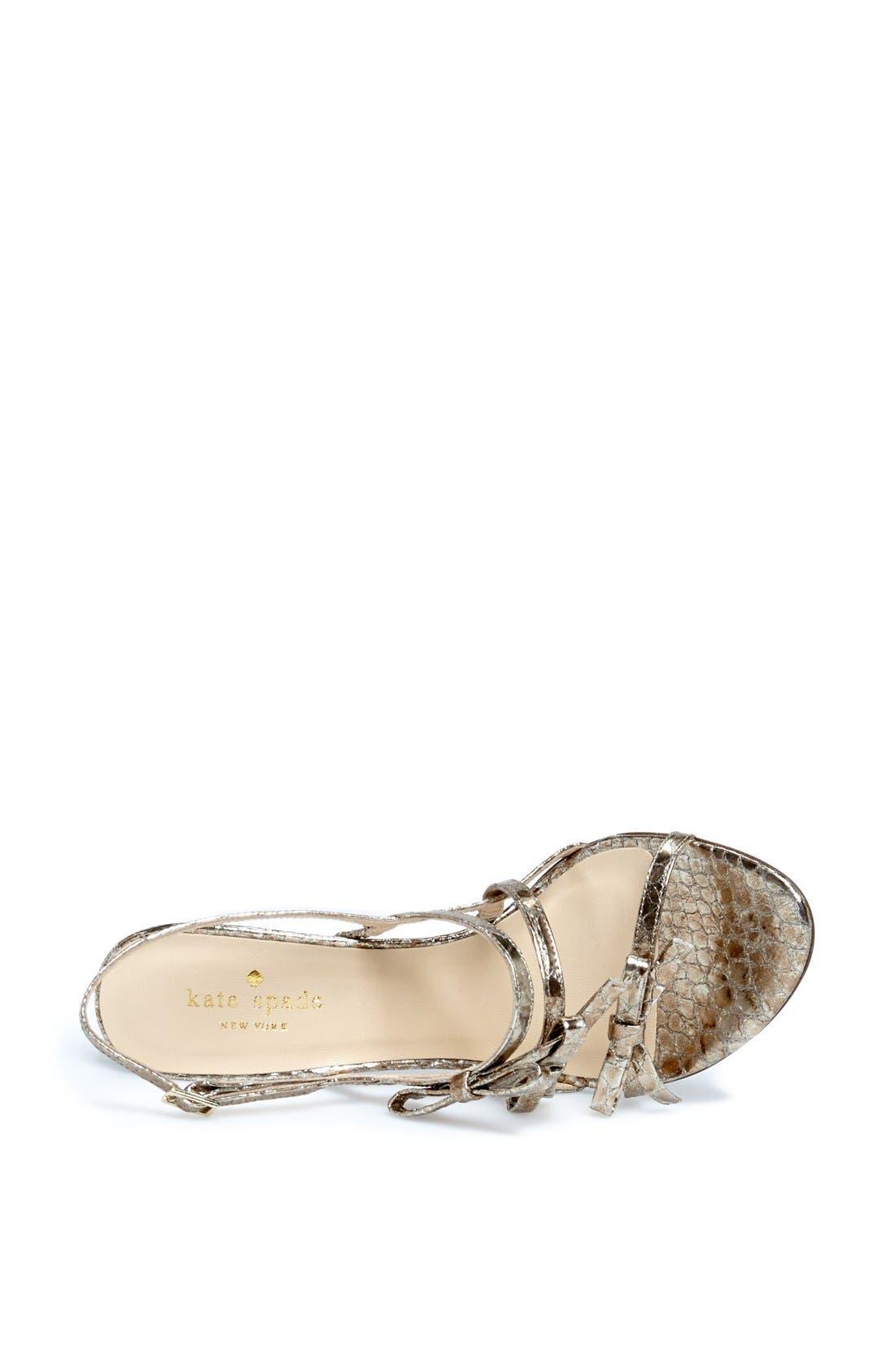 Alternate Image 3  - kate spade new york 'sally' sandal (Women)