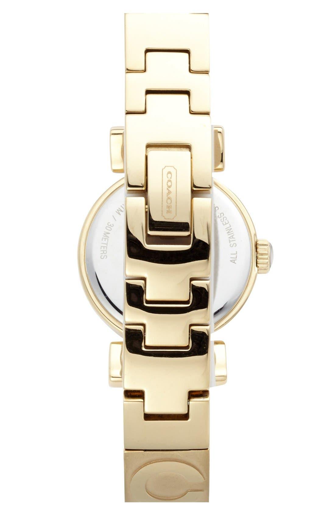 Alternate Image 2  - COACH 'Madison' Etched Bangle Watch, 23mm