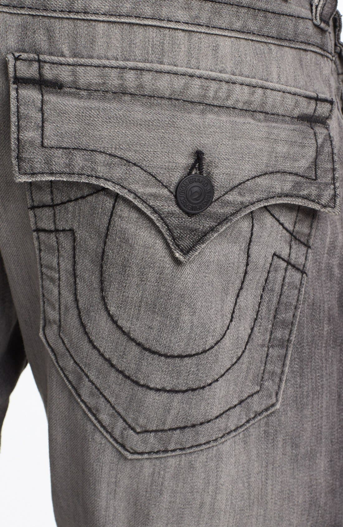 Alternate Image 4  - True Religion Brand Jeans 'Ricky' Relaxed Fit Jeans (Silverwood)