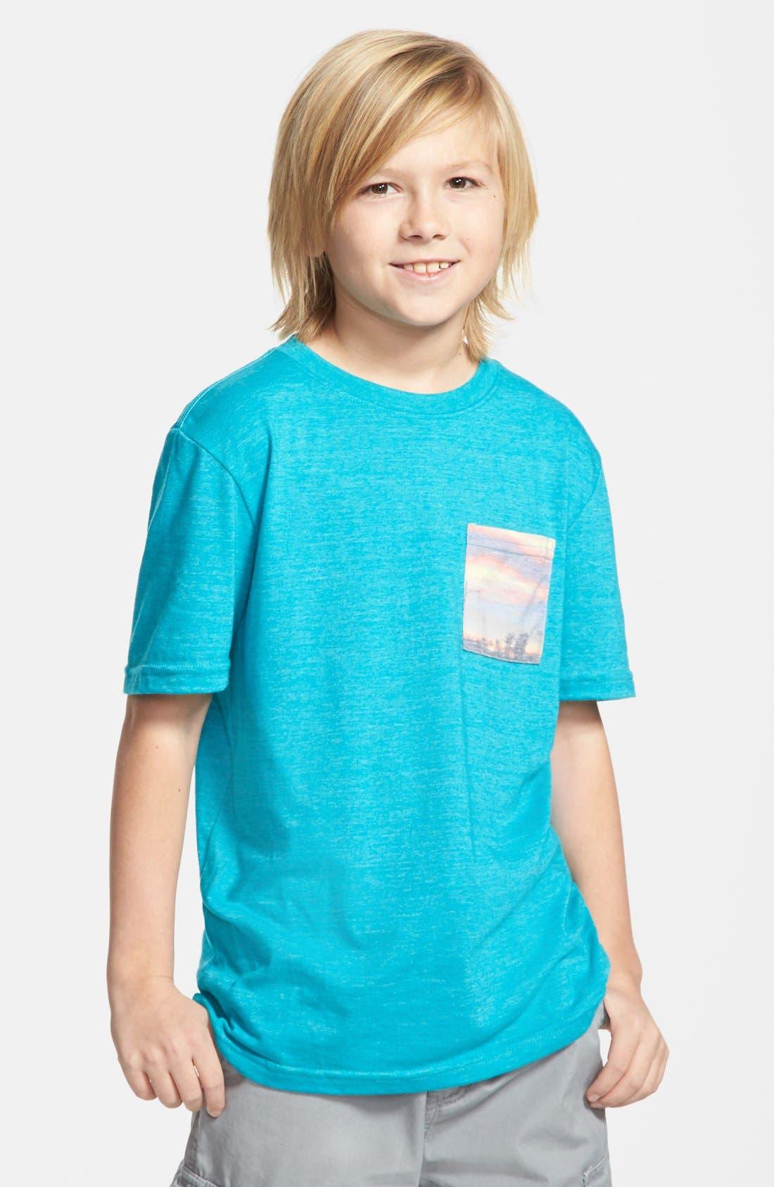 Main Image - Tucker + Tate 'Marc Sublimation' Pocket T-Shirt (Big Boys)