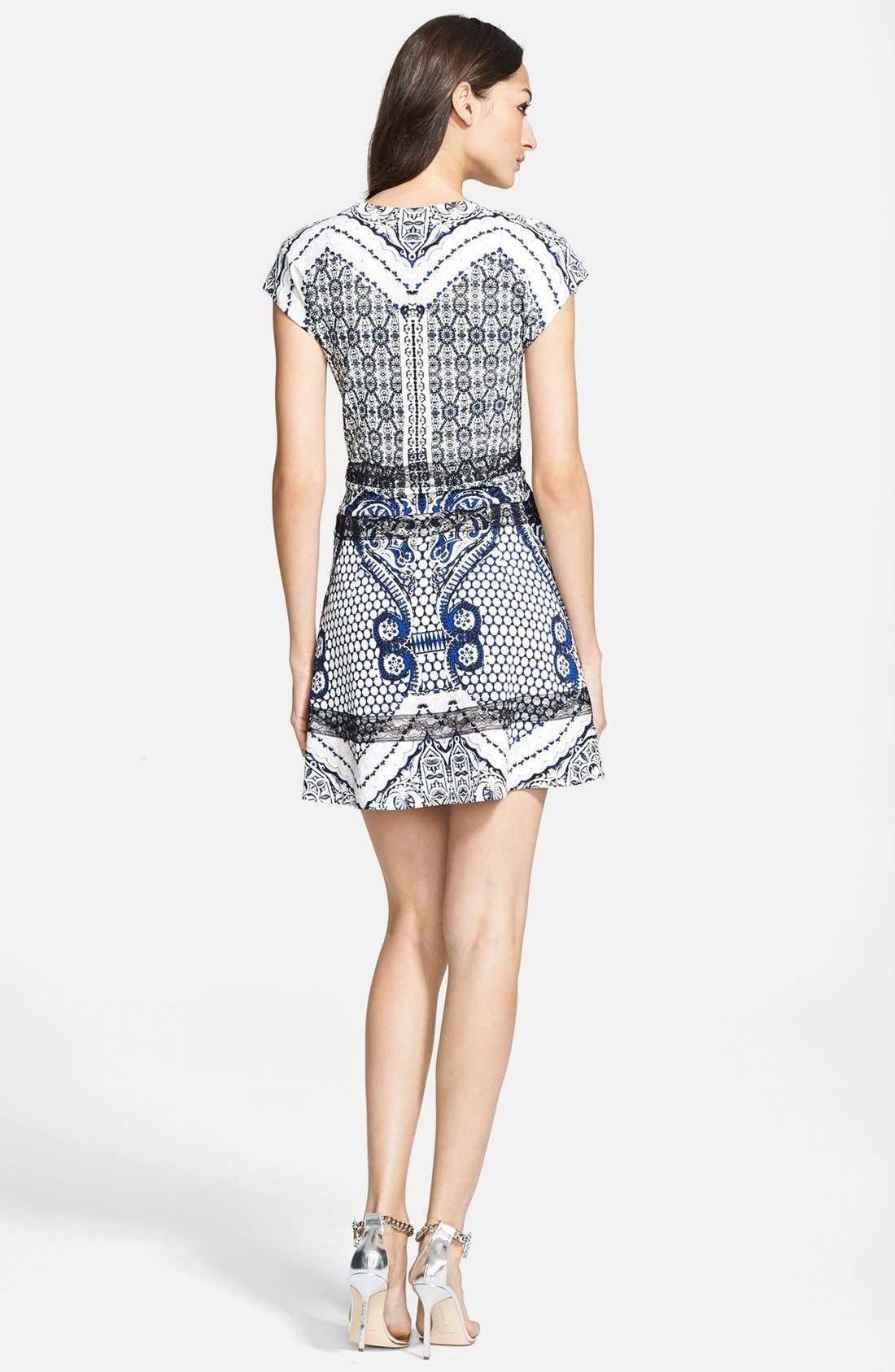 Alternate Image 2  - Roberto Cavalli Print Fit & Flare Dress