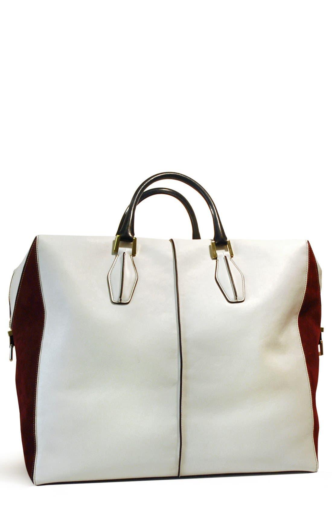 Main Image - Tod's 'D-Cube' Leather Shopper