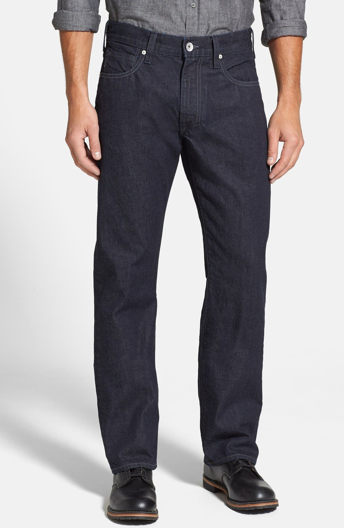 Main Image - Shade 55 '1978' Relaxed Straight Leg Jeans (Seattle)