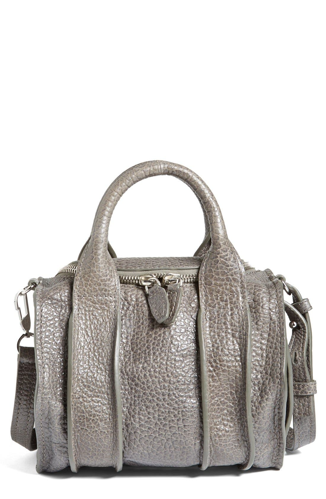 Alternate Image 1 Selected - Alexander Wang 'Rockie - Inside Out' Leather Crossbody Satchel