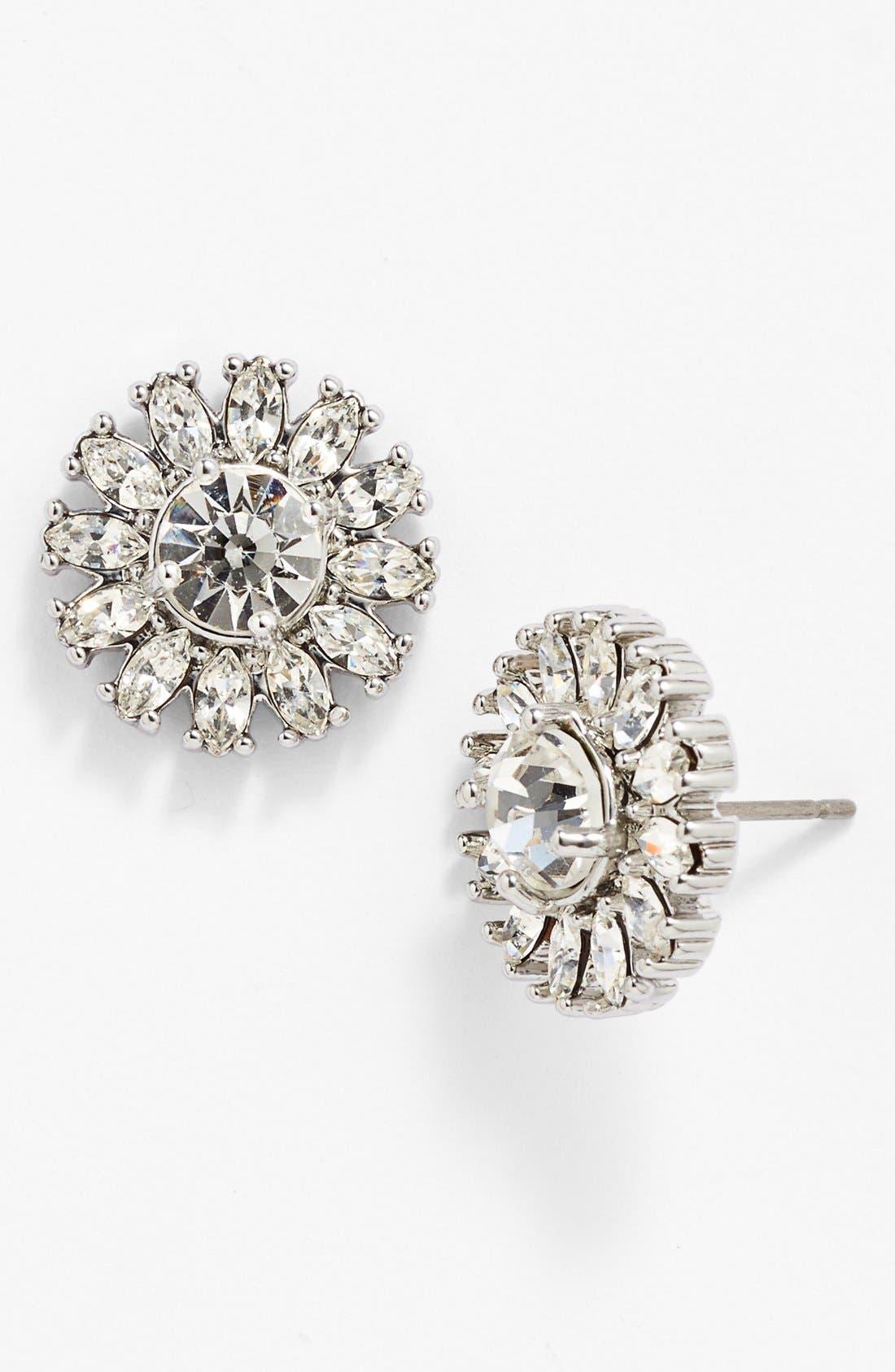 Main Image - kate spade new york 'estate garden' crystal stud earrings
