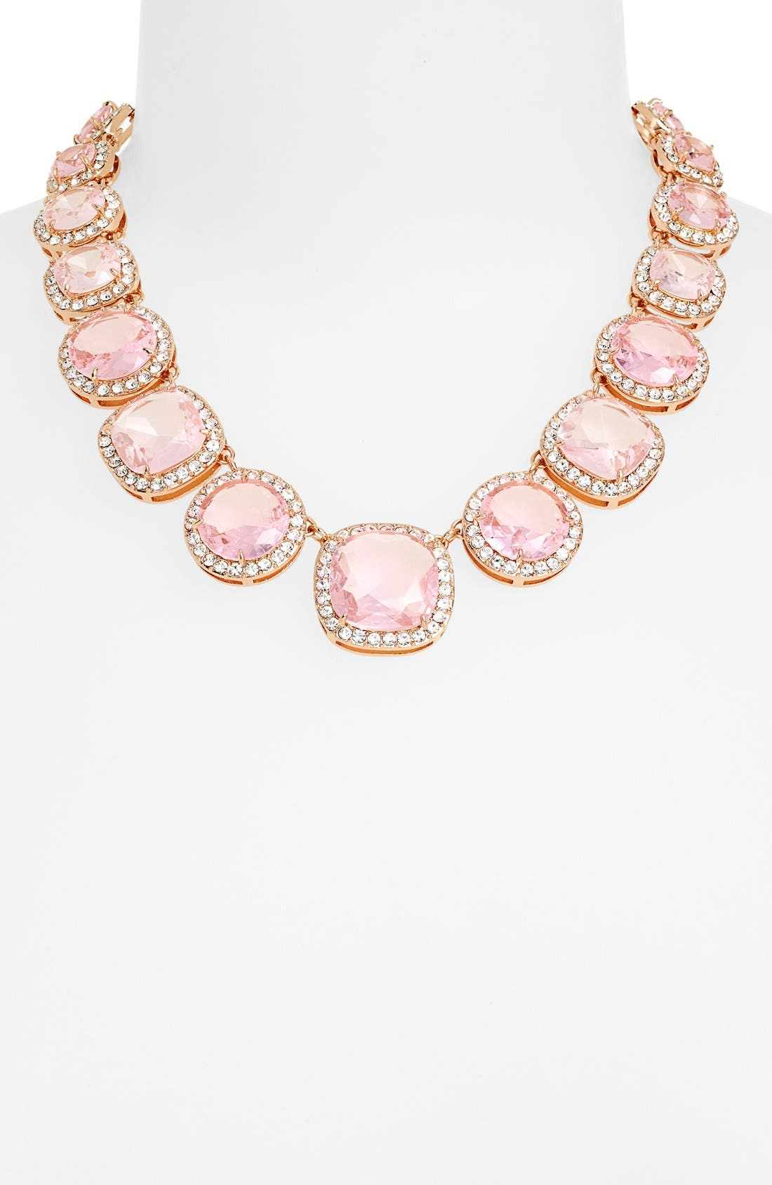 Alternate Image 2  - kate spade new york 'basket pavé' graduated collar necklace
