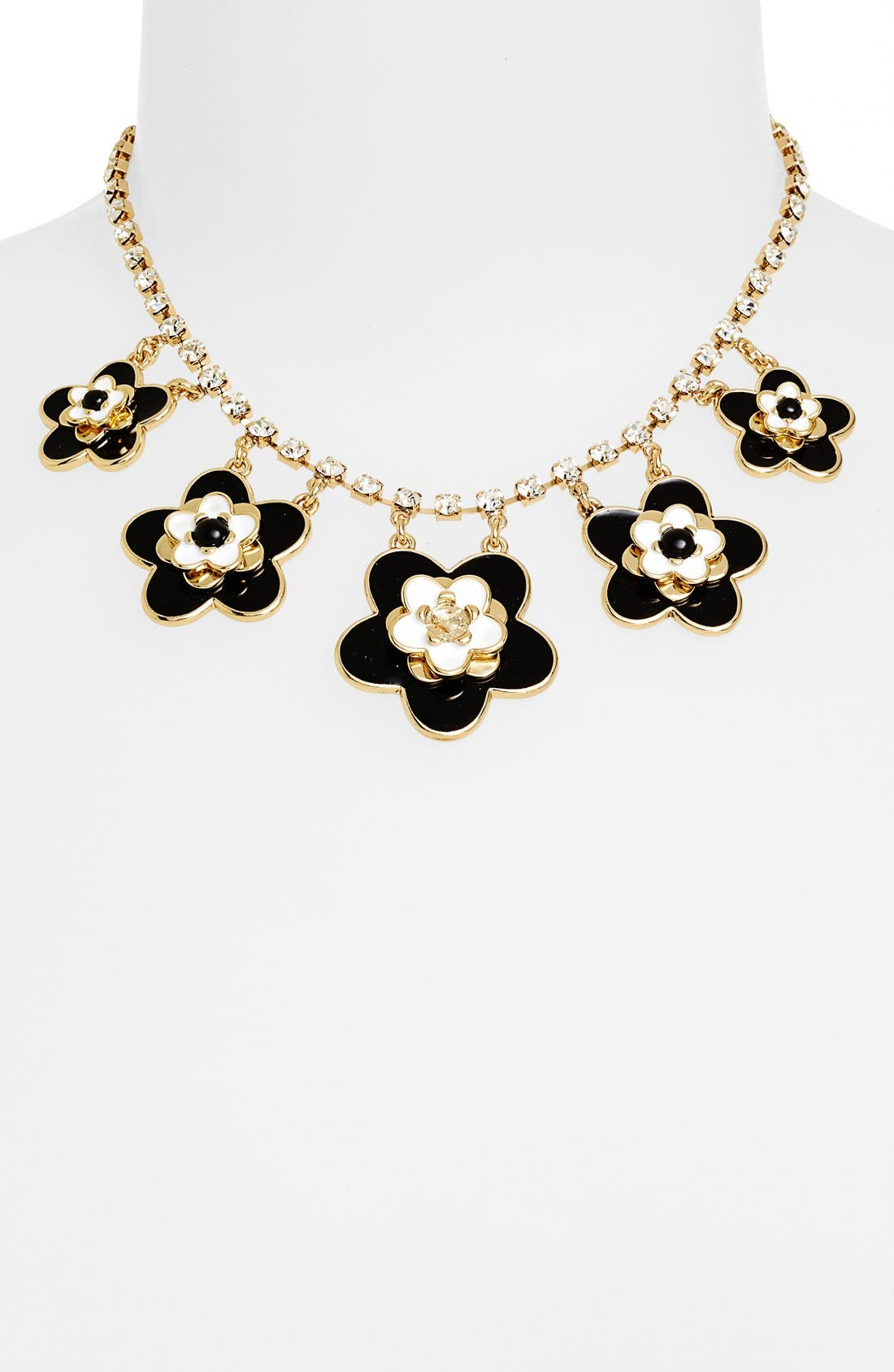 Alternate Image 2  - kate spade new york 'mod floral' bib necklace