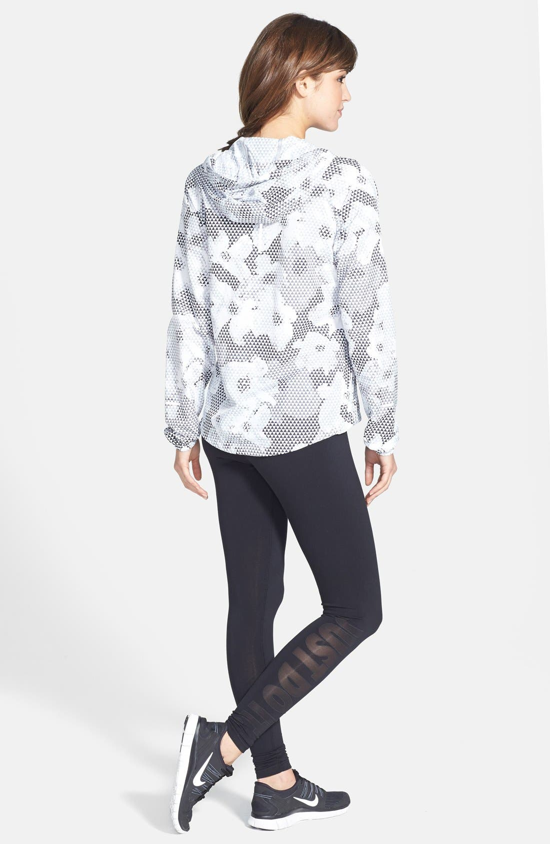 Alternate Image 4  - Nike 'Distance' Print Hooded Jacket