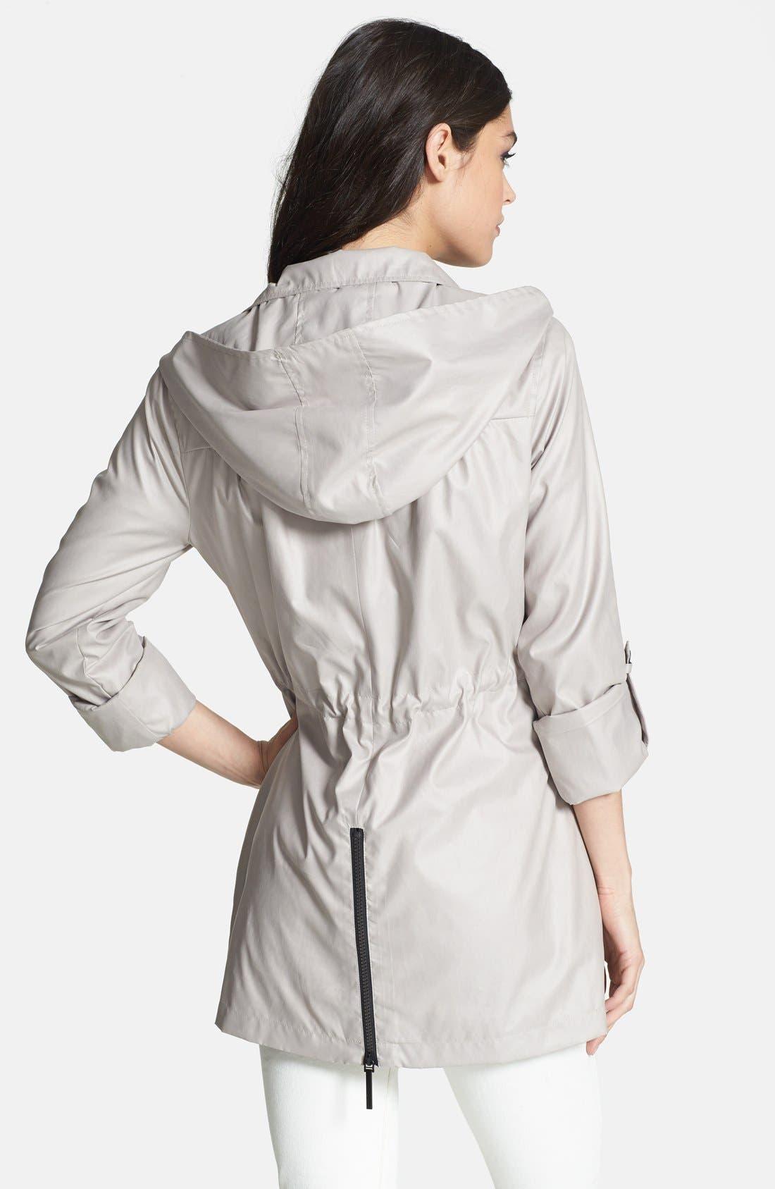 Alternate Image 2  - BCBGeneration Roll Sleeve Slouchy Anorak